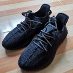 Yeezy 350 Boost V2 Reflective Black photo review
