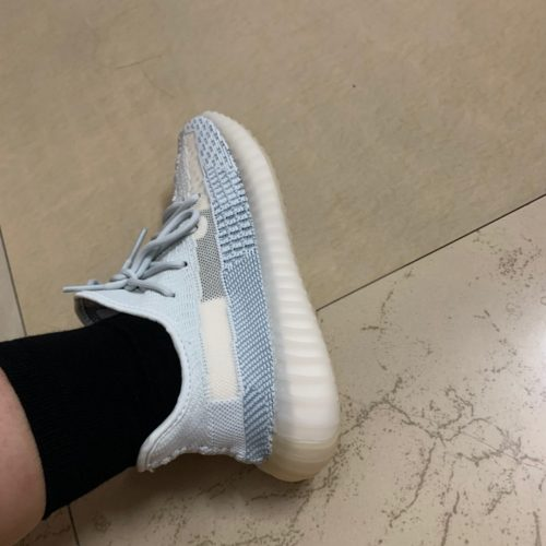 Yeezy 350 Boost V2 Cloud White photo review