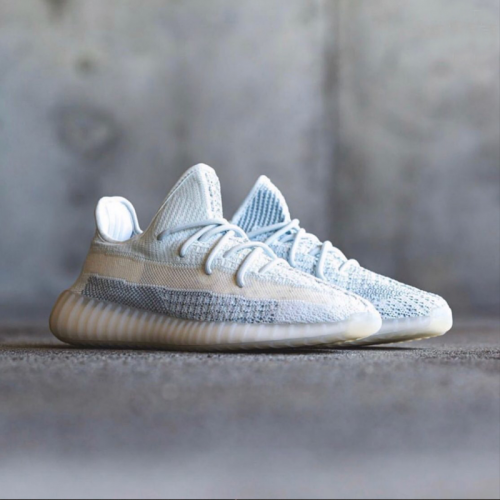 Yeezy Boost 350 V2 Cloud White - Reflective photo review