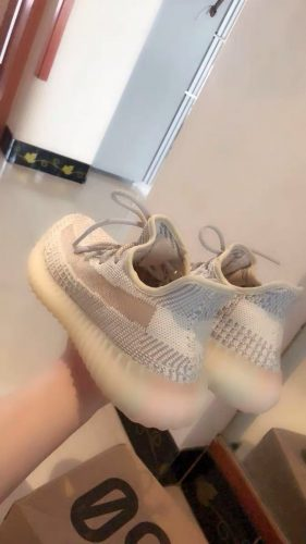 Yeezy Boost 350 V2 Lundmark photo review