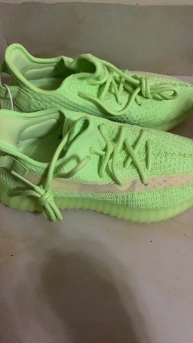 Yeezy 350 Boost V2 Glow In The Dark photo review