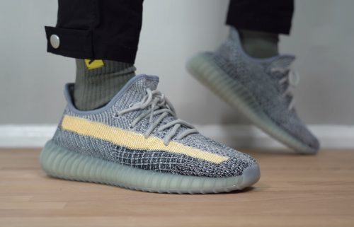 Yeezy Boost 350 V2 Ash Blue photo review