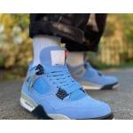 Air Jordan 4 Retro University Blue photo review